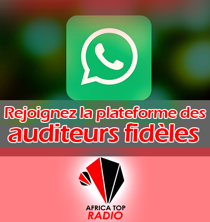 Auditeurs Africa Top Radio